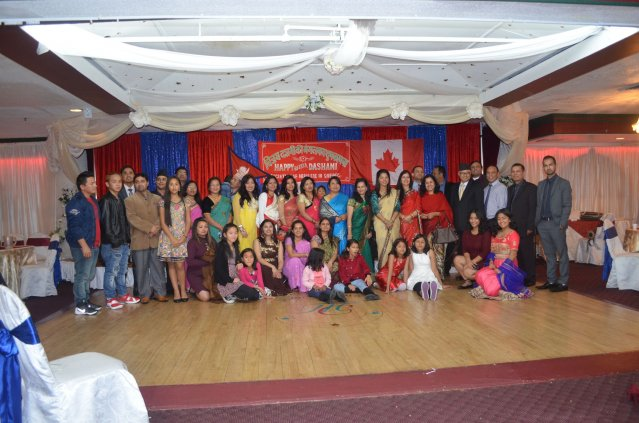 Vijaya Dashami 2073 Celebrated in Montreal