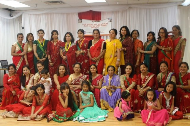 Haritalika Teej Celebration in Montreal